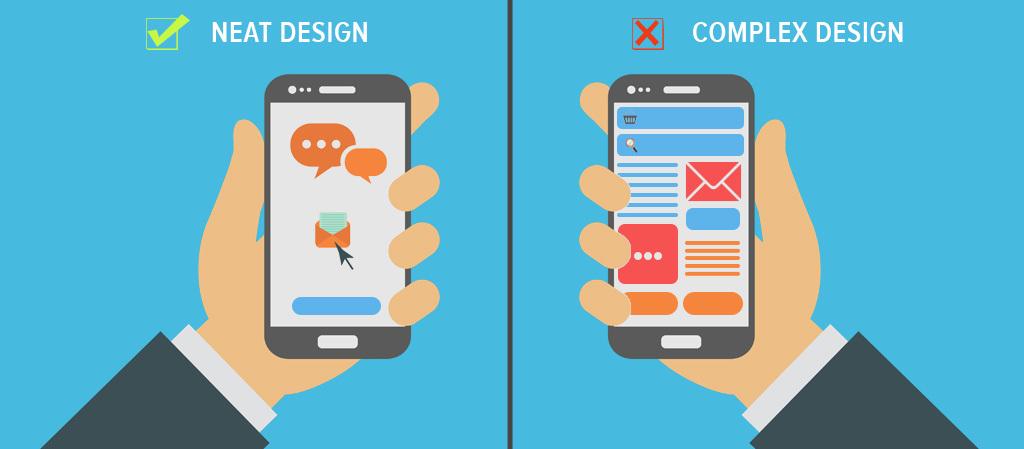 Neat vs Complex Design