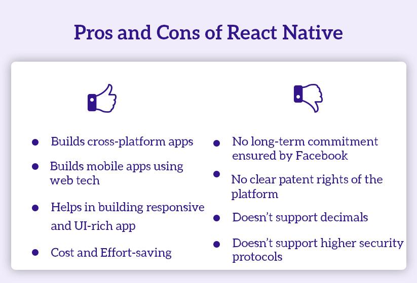 React Native Pro & Con